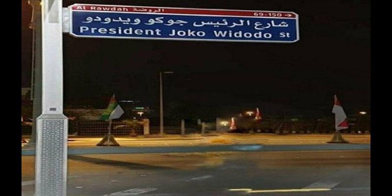 Nama Jalan Jokowi di Abu Dhabi Hasil Barter Tanah Kalimantan?