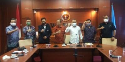PWI Jambi Klarifikasi Kunjungan Silaturahmi H Cek Endra