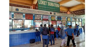 Terminal Kampung Rambutan Perketat Protokol Kesehatan