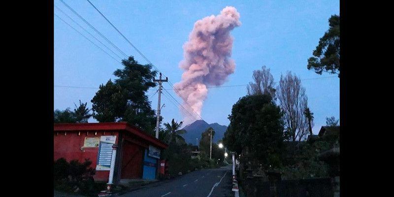 Erupsi Berikutnya Gunung Merapi Makin Dekat