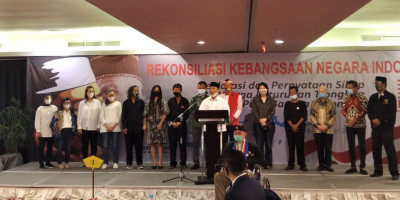 Rekonsiliasi Kebangsaan Negara Indonesia Jadi Momentum Pengikat Persatuan