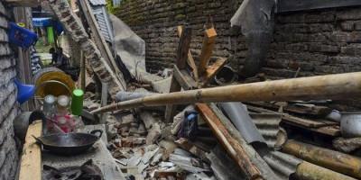 Gempa Pangandaran Bikin Rumah di 5 Kabupaten/Kota Luluh Lantak