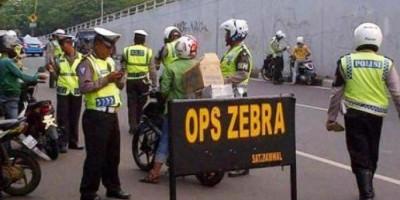 Hari Pertama Operasi Zebra, Segini Jumlah Pelanggar yang Ditindak Polisi