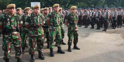 Luar Biasa, 12 Ribu Lebih Aparat Gabungan Amankan Jakarta Hari Ini