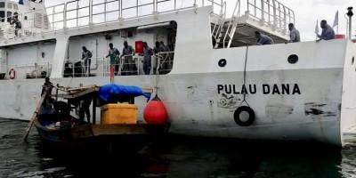 Kamla Zona Maritim Tengah Sosialisasi Keselamatan Pelayaran Bagi Nelayan