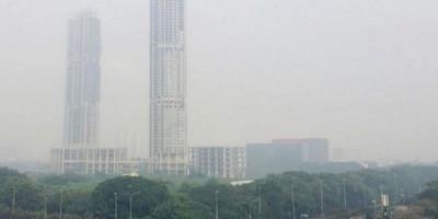 DKI Jakarta Diselimuti Kabut Tebal, Kualitas Udara Terburuk Kelima di Dunia