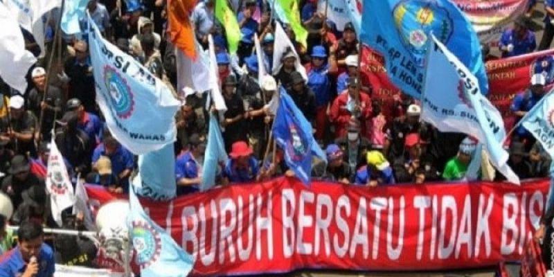Buruh Kembali Demonstrasi, Ini Jumlah Aparat Gabungan yang Diterjunkan