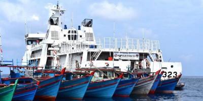 Bakamla RI Kumpulkan Nelayan, Sosialisasikan Cara Menghadapi Cuaca Buruk