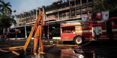 Tersangka Kebakaran Gedung Kejagung Nambah Tiga Orang