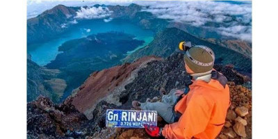 Hore, Kuota Pendakian Gunung Rinjani Ditambah 50 Persen