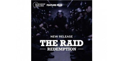 Bioskop Online Hadirkan The Raid 1 dan 2, Tiketnya Cuma Goceng