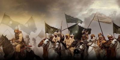 Al-Ala' bin al-Hadhrami Menunggang Kuda di Atas Air