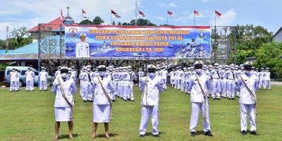 Danpasmar 3 Hadiri Pelantikan Bintara dan Tamtama TNI AL Program Khusus Papua