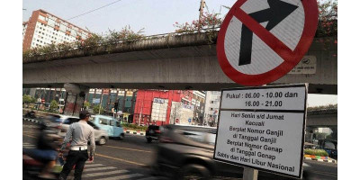 Kasus Covid-19 Masih Tinggi, Jakarta Belum Bisa Terapkan Lagi Ganjil Genap