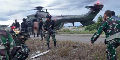 KKB Serang Patroli TNI, Saling Tembak Terjadi 30 Menit