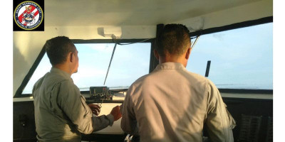 SPKKL Tual Imbau Nelayan Antisipasi Bahaya Cuaca Buruk