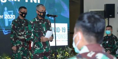 Kapuskes Buka Pelatihan Vaksinasi Covid-19 di Lingkungan TNI