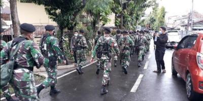 Prajurit TNI Siaga di RS Polri Kramat Jati, Pangdam Jaya Bilang Begini