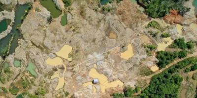 5000 Hektare Hutan Lindung Nagan Raya Rusak Akibat Tambang Ilegal