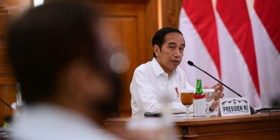 Jokowi Sampaikan Pidato Antikorupsi, Listrik di KPK Tiba-tiba Padam