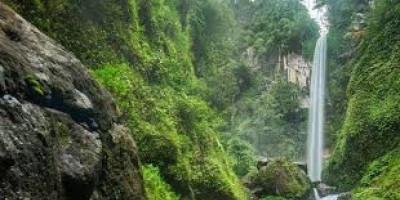 Air Terjun Agal, Serpihan Surga 10 Tingkat di Hutan Lindung