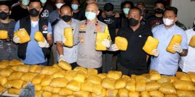 Jaringan Narkoba Timur Tengah di Petamburan Dibongkar Polisi, 201 Kg Sabu Disita