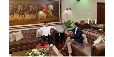 Prabowo: Selamat Bertugas Menparekraf Sandiaga Uno