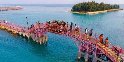 Tiga Ribu Wisatawan Kunjungi Kepulauan Seribu Saat Libur Natal