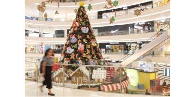 Terlanjur Bersolek Natal, Ternyata Pengunjung Mal Sepi