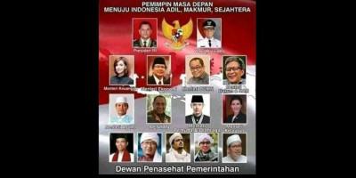 Beredar Foto Kabinet Masa Depan, Gatot Nurmantyo Presiden dan Anies Baswedan Jadi Wapres