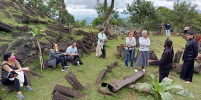 Situs Megalitikum Gunung Padang Tetap Buka Saat Malam Tahun Baru