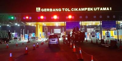 Liburan Tahun Baru, Sudah 272.327 Kendaraan Tinggalkan Jakarta