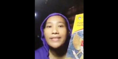 Viral, Perempuan Ini Nekat Rekam Video dan Sebut Pancasila Sampah