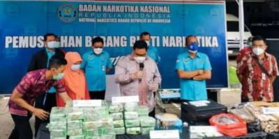 BNN Sita Aset Bandar Kampung Ambon Senilai Rp 25 Miliar