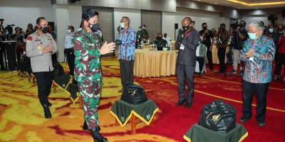 Kunjungan Pertama Panglima TNI dan Kapolri ke Papua di Tahun 2021