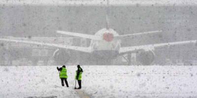 Pesawat Real Madrid Sempat Terjebak Badai Salju