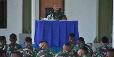 Prajurit Brigif 3 Marinir Ikuti Safari Intel dan Pers