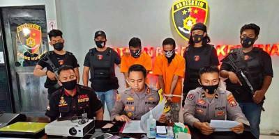 Resmob Macan Gamalama Gulung Komplotan Maling Lintas Provinsi