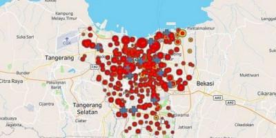 74 RW di Jakarta Berstatus Zona Merah, Ini Daftarnya
