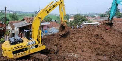 Langkah PUPR Percepat Penanganan Bencana Longsor Sumedang