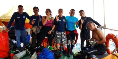 Kisah Penyelam Wanita Johan Majabubun Ikut Evakuasi Korban Lion Air JT610
