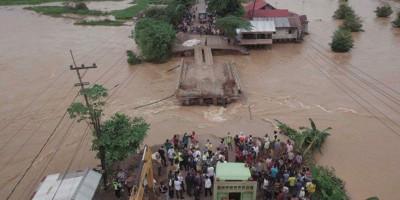 Menteri Basuki Minta Pemasangan Jembatan Bailey di Martapura Selesai Tiga Hari
