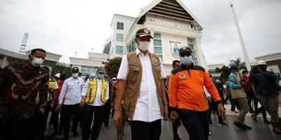 Arahan Kepala BNPB Agar Tak Ada Penularan Corona di Pengungsian Gempa Sulbar