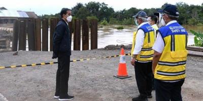 Instruksi Presiden Buat Menteri Basuki Terkait Perbaikan Infrastruktur di Kalsel