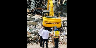 Tinjau Sulbar Pasca-gempa, Jokowi Sebut Pihak Mana Saja yang Tangani Dampaknya