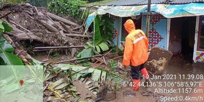 900 Jiwa Terdampak Banjir Bandang Kabupaten Bogor