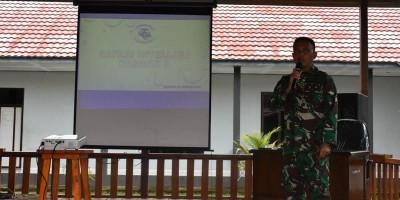 Bina Personel, Prajurit Denmako Pasmar 3 Ikuti Safari Intelijen