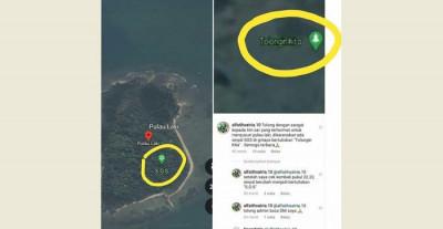 Muncul Tanda SOS di Pulau Laki, Diduga Korban Sriwijaya Air Minta Tolong