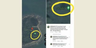 Tanda SOS di Pulau Laki Diduga dari Korban Sriwijaya Air, Ini Respons Basarnas