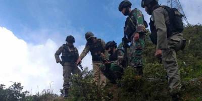 Baku Tembak dengan KKB, Satu Prajurit Gugur